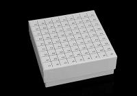 上海81格纸质冷冻盒