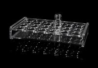 24孔有机玻璃架低