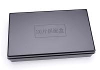 20片湿盒塑料黑色